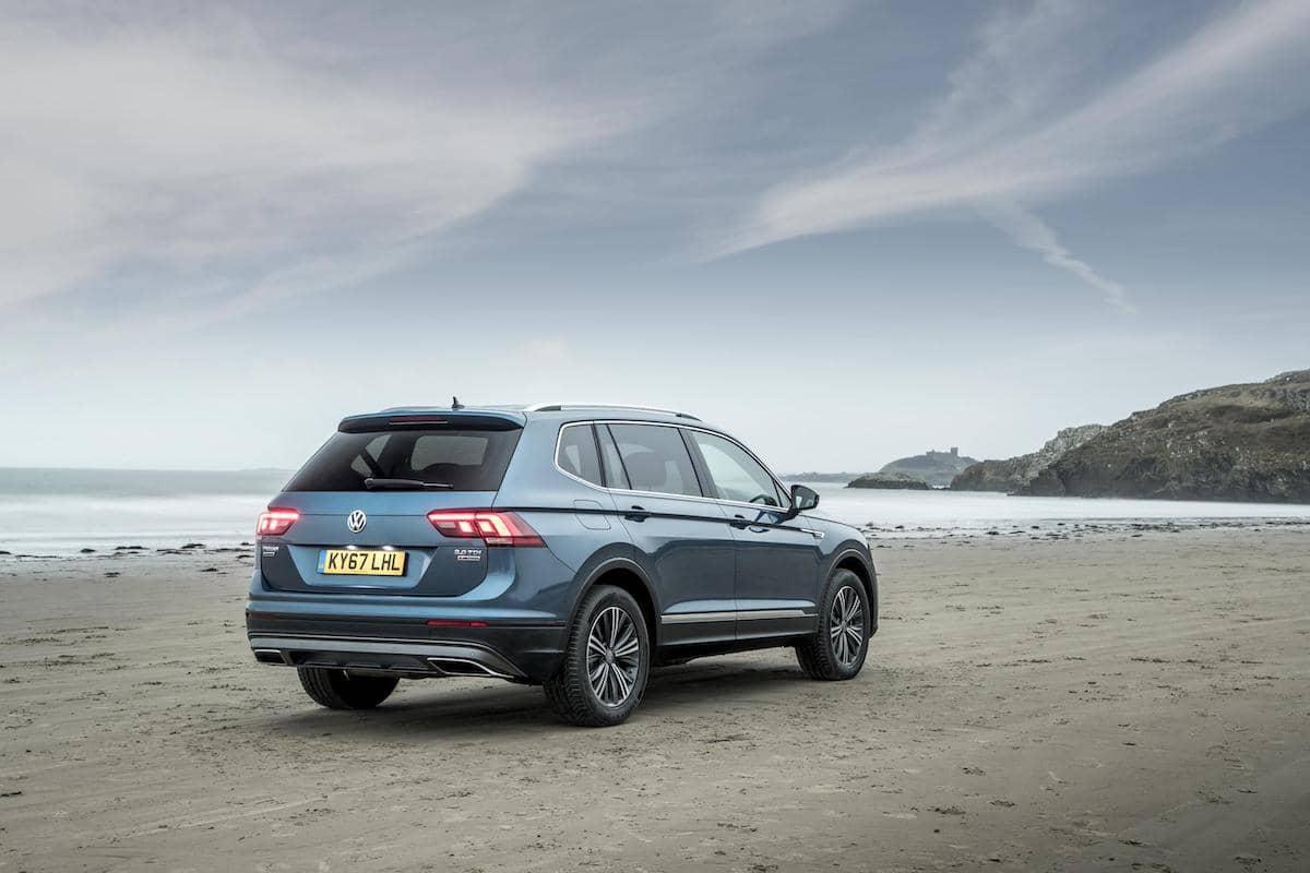 Volkswagen Tiguan Allspace (2018) rear view | The Car Expert