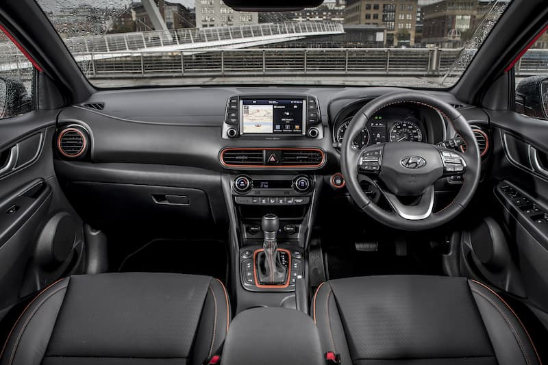 Hyundai Kona (2017) dashboard | The Car Expert