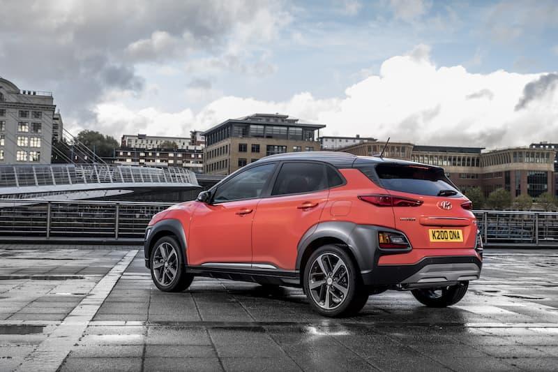 Hyundai Kona (2017) rear view | The Car Expert