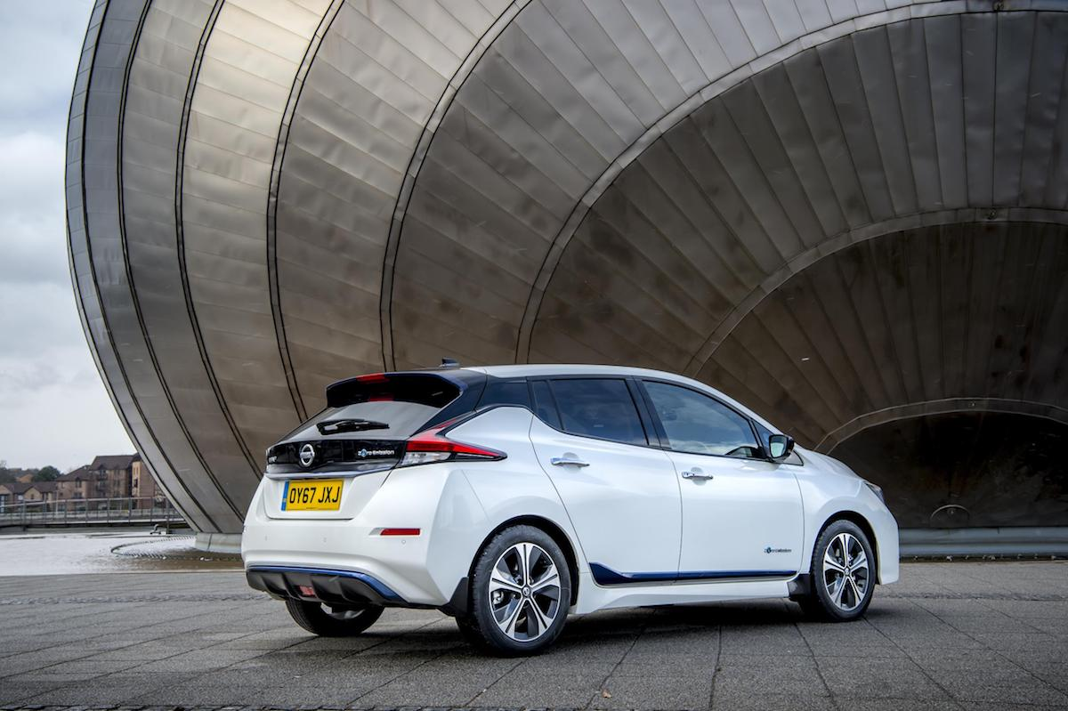 Nissan Leaf (2018) rear view | The Car Expert