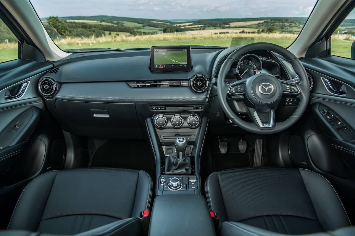 Mazda CX-3 - interior and dashboard | The Car Expert