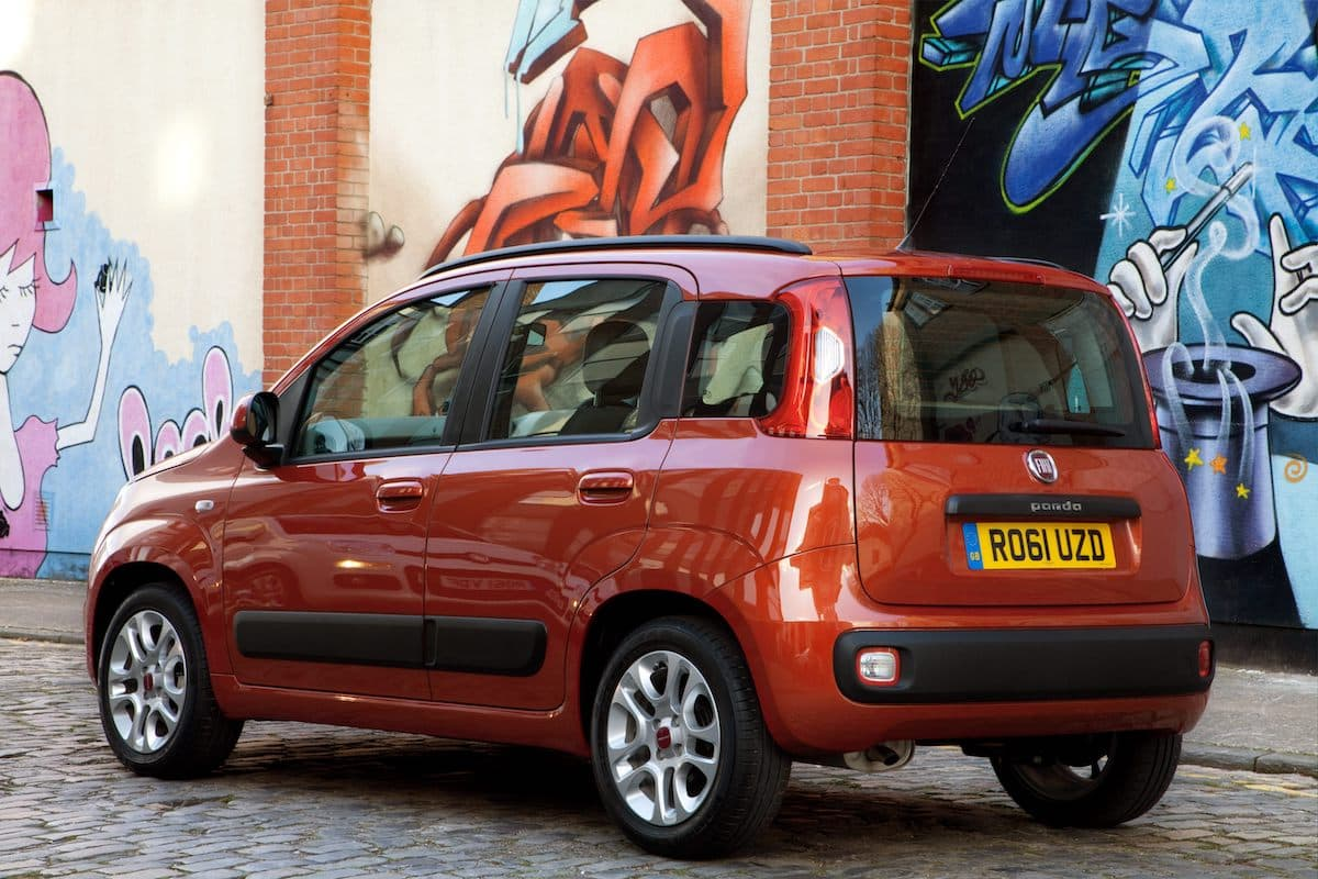 Fiat Panda (2012 - present) - rear view | The Car Expert