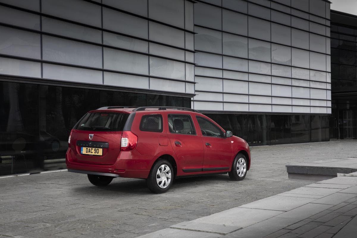 Dacia Logan MCV (2013 - ) rear view | The Car Expert