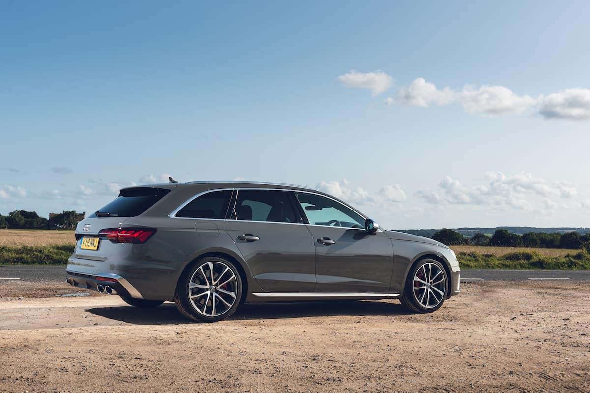 Audi S4 TDI Avant (2019) - rear | The Car Expert