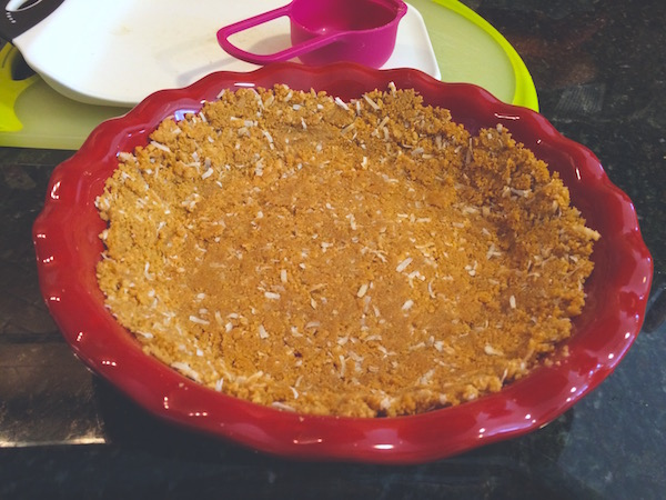 Coconut piecrust