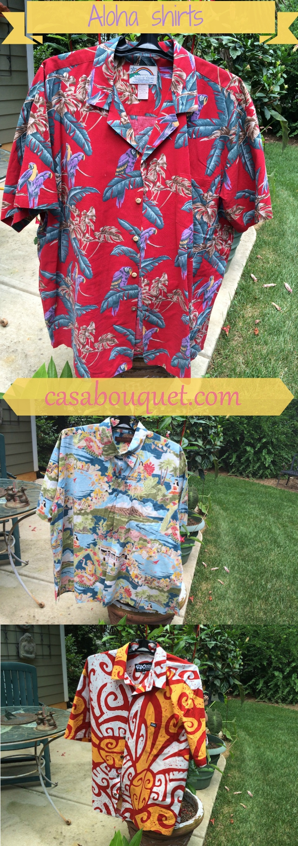 "Aloha shirts or Hawaiian shirts are well-known icons of Hawaii that help us ""live aloha"" every day. Designers and history here."