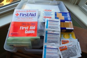 Safety tips – first aid and home safety organizing