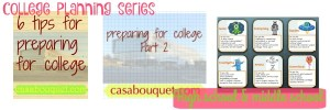College planning series