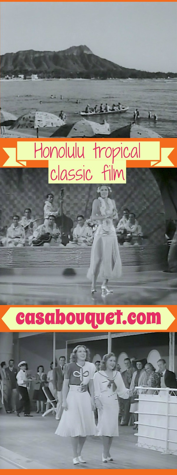 A rich movie actor and a Hawaiian plantation owner trade places and get in romantic trouble. Eleanor Powell dances spectacularly! Lisa's Home Bijou: Honolulu (1939)