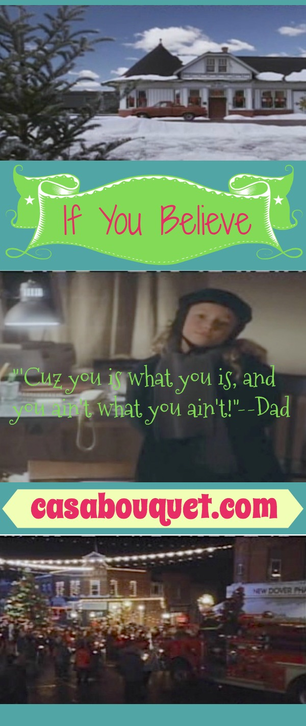 Susan has lost her joy in life. Her inner child, 7-year-old Suze, helps her find love in this fantasy Christmas story. Lisa's Home Bijou: If You Believe (1999)