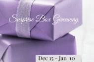 surprise box giveaway sidebar