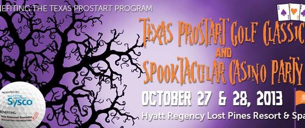 Texas ProStart Golf Classic and Spooktacular Casino Party