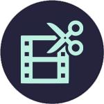 Film Cut Icon - 2c