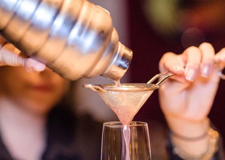 Cocktails in Brazz