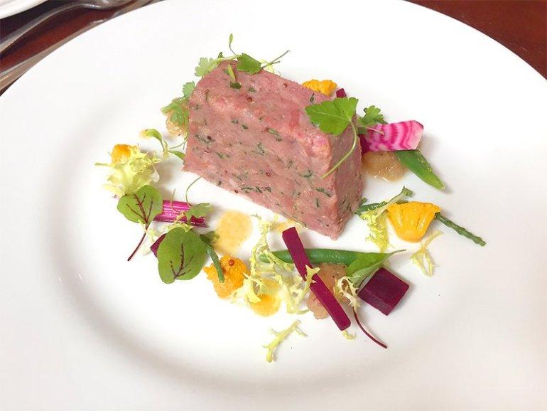 Ham Hock Terrine Recipe from The Castle Kitchen in Taunton