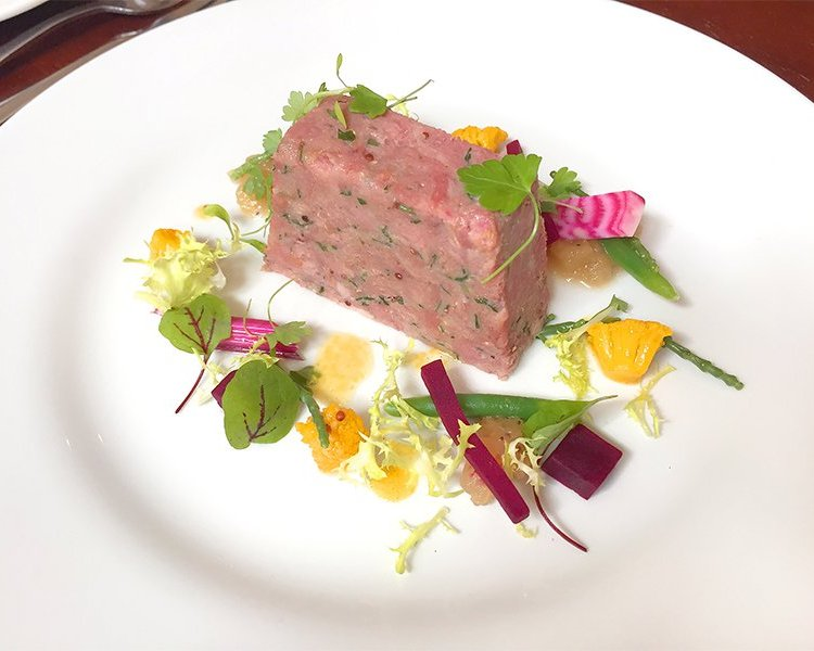 Ham Hock Terrine Recipe from The Castle Kitchen in Taunton