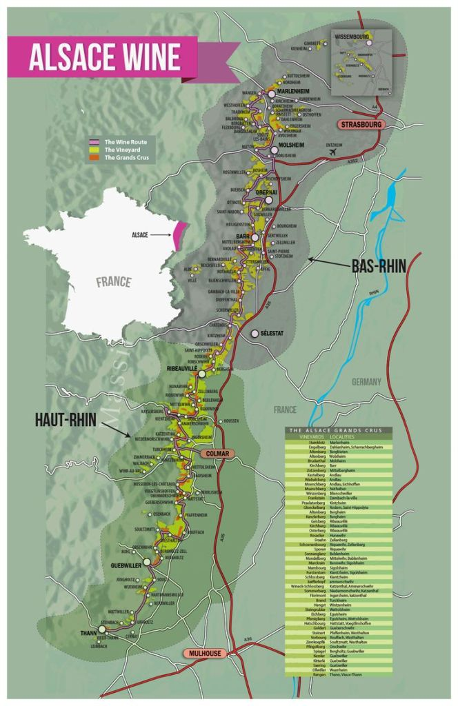 Alsace Region Wines