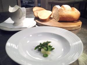 Liam Finnegan's Wild Garlic, Asparagus and Potato Soup
