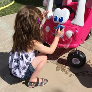 Backyard Car Wash