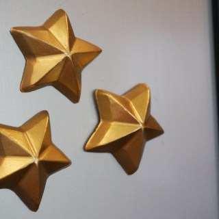 DIY 3D Star Magnets