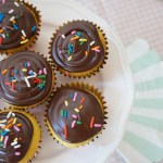 Chocolate Ganache Cupcake Frosting