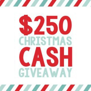 Giveaway: $250 Christmas Cash!!