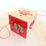 Printable Valentine's Day Treat Boxes