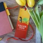 Printable Gift Card Holder & Bookmark