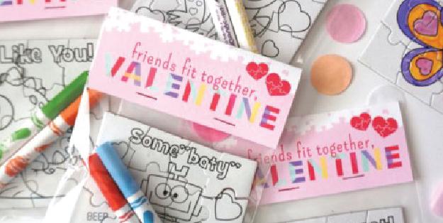 Free Printable Puzzle Valentine