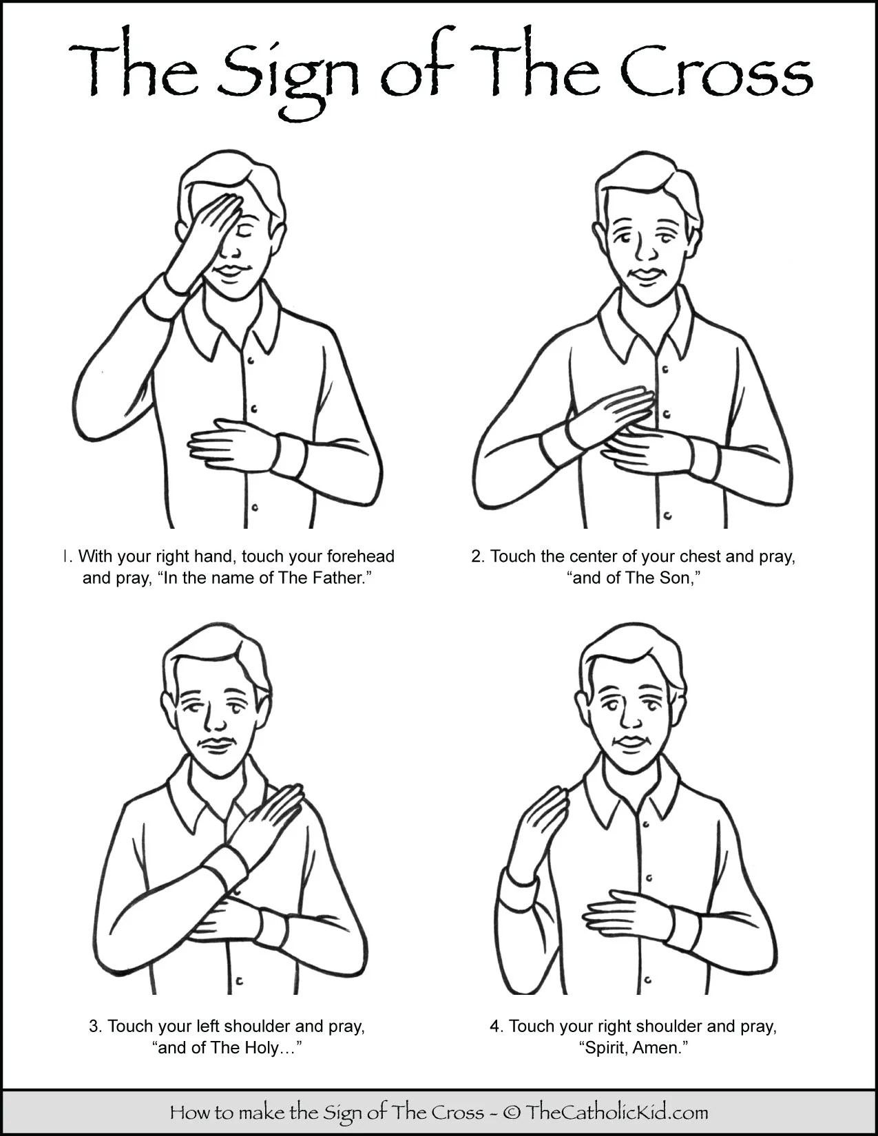 How To Make The Sign Of The Cross