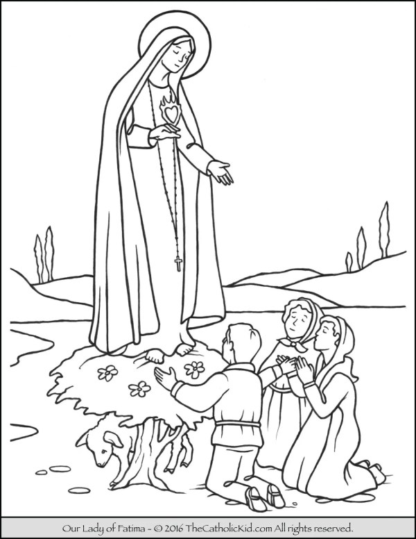 our lady of guadalupe coloring page # 53