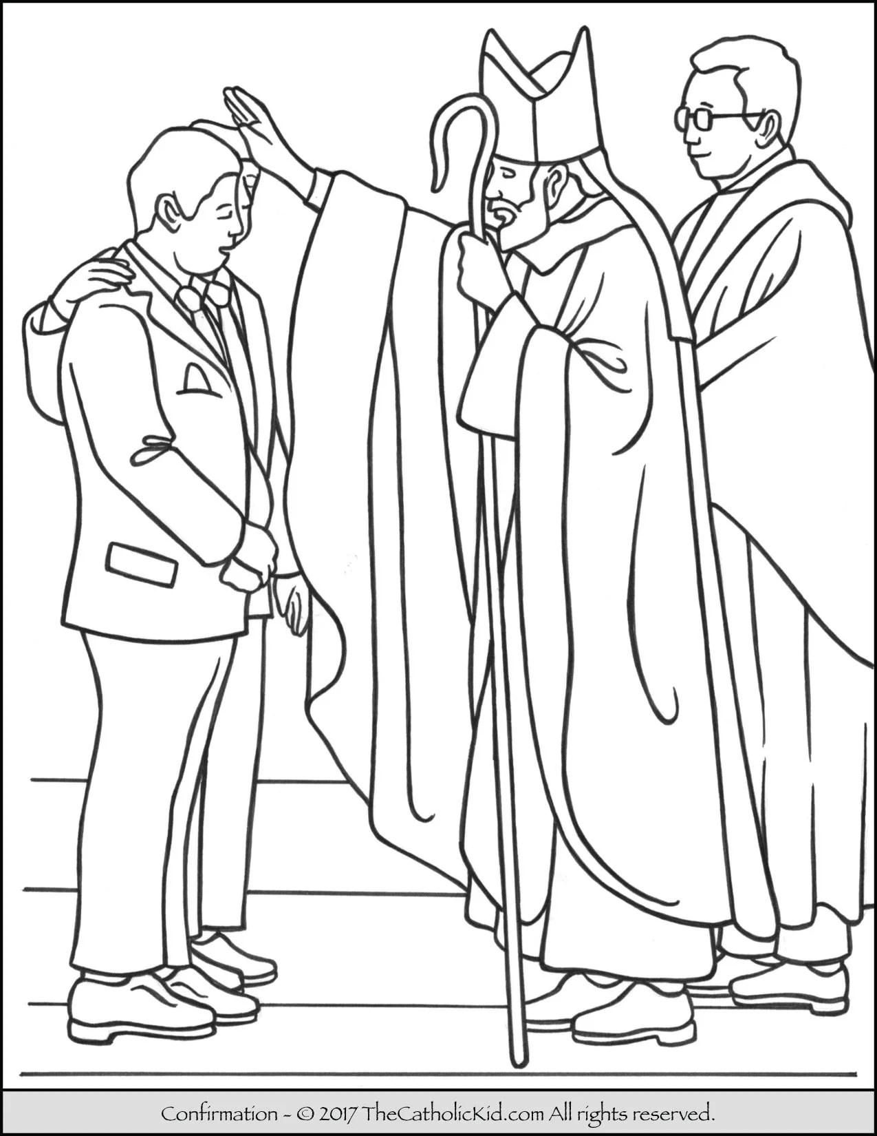 Seven Ts Holy Spirit Catholic Clip Art