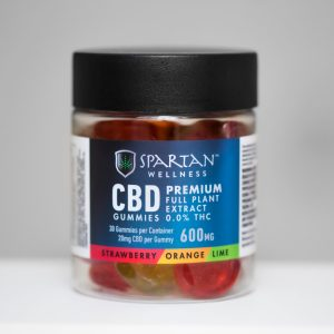CBD Gummies - Vegan - 30 Pack - 600mg