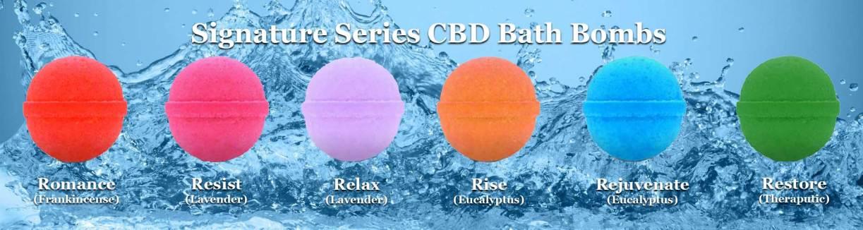 bath bombs with cbd