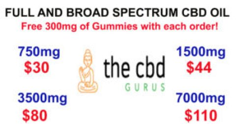 Buy CBD from The CBD Gurus