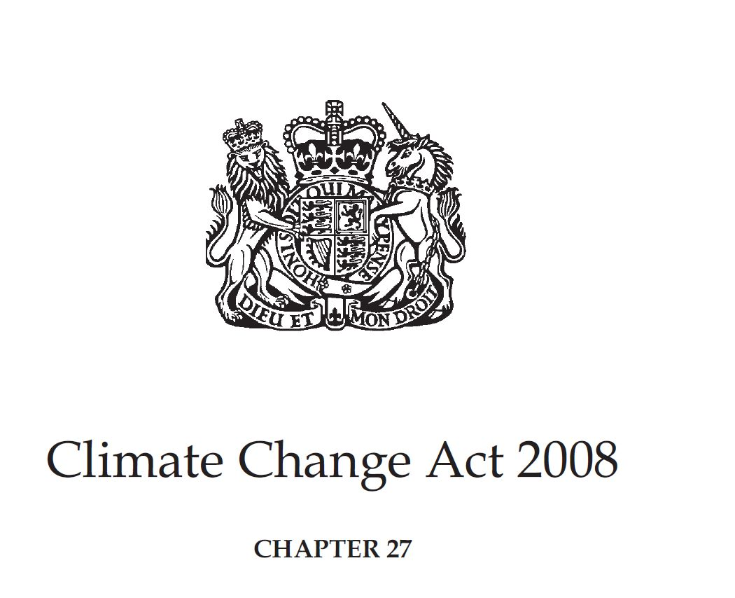 The Climate Change Act And Uk Regulations