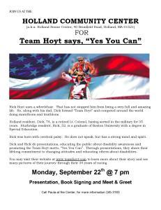 Team Hoyt Holland Community Center