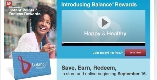 Walgreens balance rewards redemption