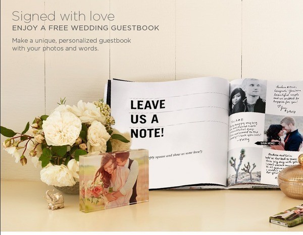 402873 57a5fdd15db087e442aba147dd629fa5 Heres A Great Deal From Shutterfly Enjoy FREE Wedding Guestbook For