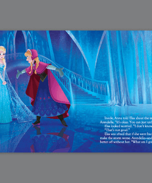 FREE Frozen Read Along Storybook on iTunes