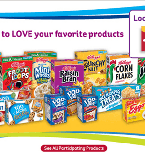 Kellogg's Family Rewards: {Updated} Earn Over 1,000 Points