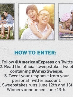 American Express Father's Day Sweeps: Win $4,000 to Spend to Home Depot {250 Winners}