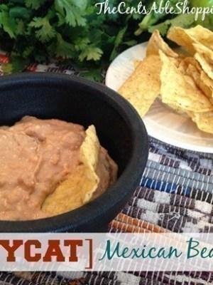 Recipe | Copycat Crock Pot Mexican Bean Dip