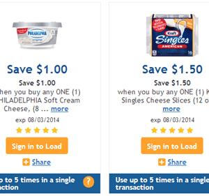 High Value Kraft Digital Coupons | Kraft Blocks & Shreds just $.49 at Fry's