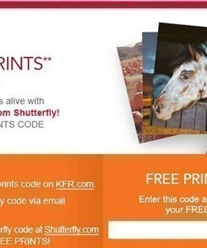 Kellogg's Family Rewards: 101 FREE Prints from Shutterfly {Check your Email}