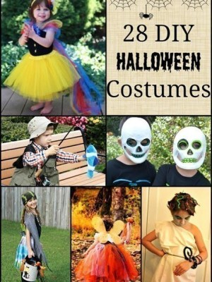 28 DIY Halloween Costumes