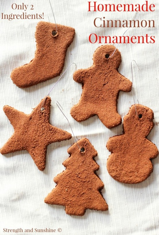 Homemade Cinnamon Ornaments - Strength and Sunshine