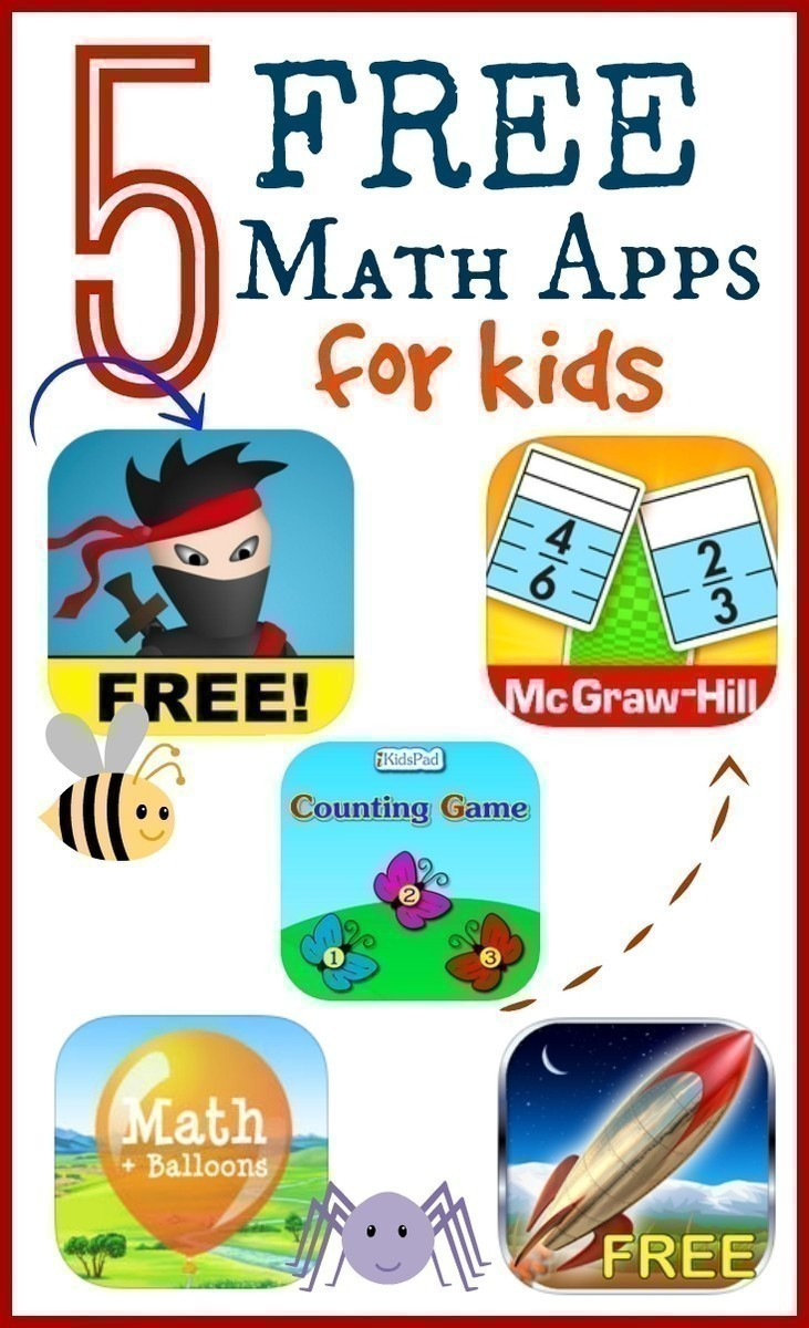 5 FREE Math Apps for Kids | The CentsAble Shoppin