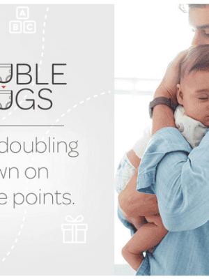 Huggies Rewards: Double Points on Select Huggies Diapers Ends Tonight!