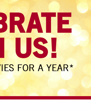 Harkins Theaters 82nd Anniversary: Enter to Win FREE Movies for a Year + FREE Drink Upgrade